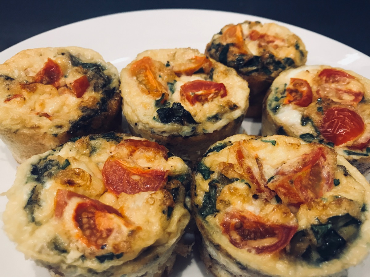 Egg Muffins with Vegetables & Herbs