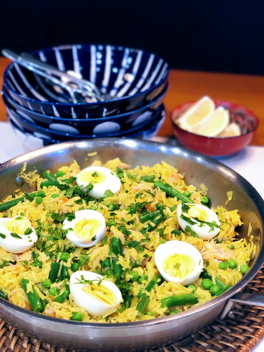 A Kedgeree Inspired Midweek Dinner